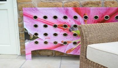 radiador rosas