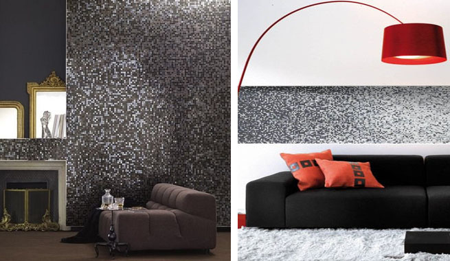 Baños Modernos Decorados Con Mosaicos:Mosaicos, no sólo en el baño