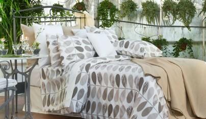 Ambiente La Mallorquina ropa cama hojas