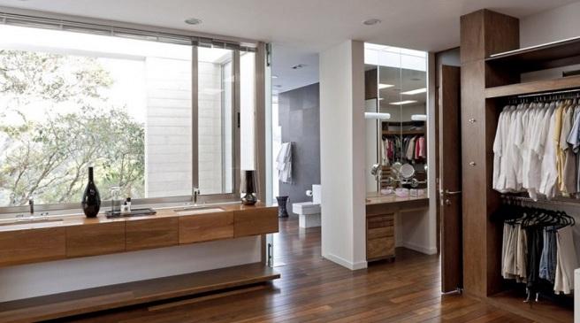 Baño Vestidor Moderno:Baños & Estilos: Modernos baños con vestidor