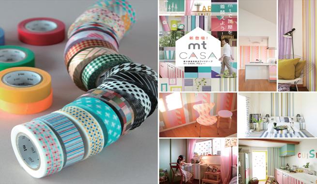 Decorar con cinta japonesa for Accesorios para decorar