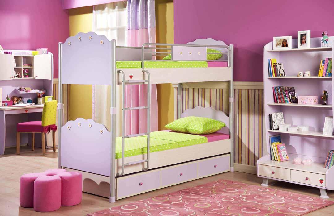 Dormitorio nina fucsia - Colores actuales para pintar paredes ...