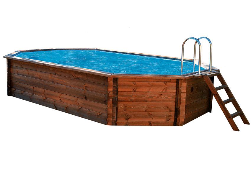 Piscina america madera - Gresite piscinas leroy merlin ...