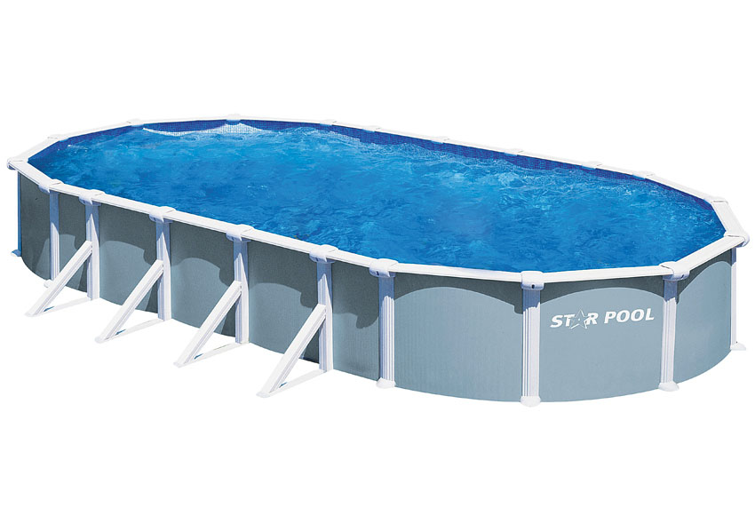 Piscina dream pool ovalada for Piscinas hinchables leroy merlin