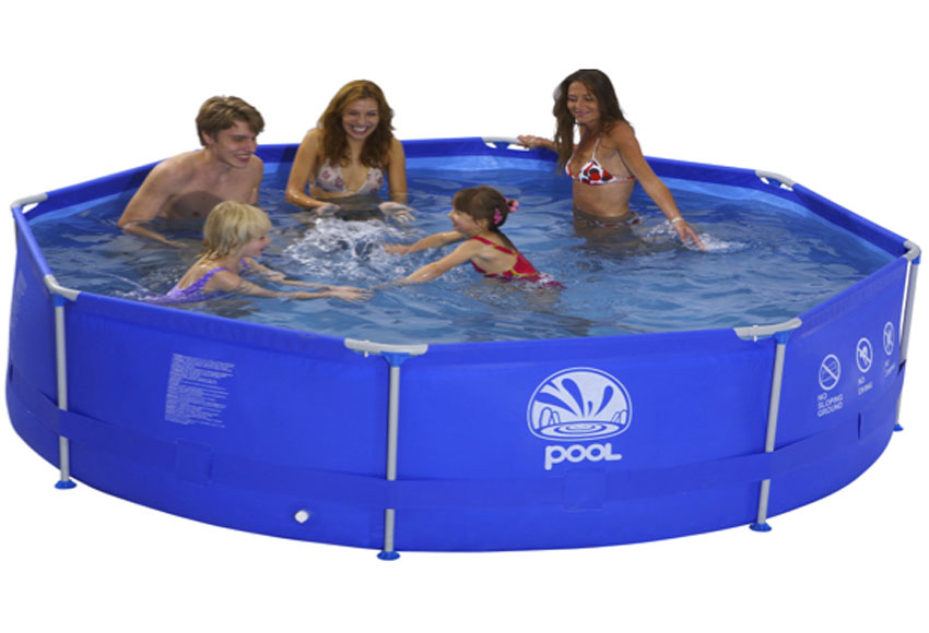Piscina tubular acero for Piscinas leroy merlin 2016
