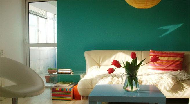 Salon esmeralda - Pintar salon colores ...