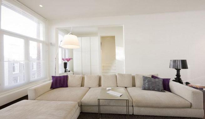 Tonos blancos en decoraci n - Casa diez salones ...
