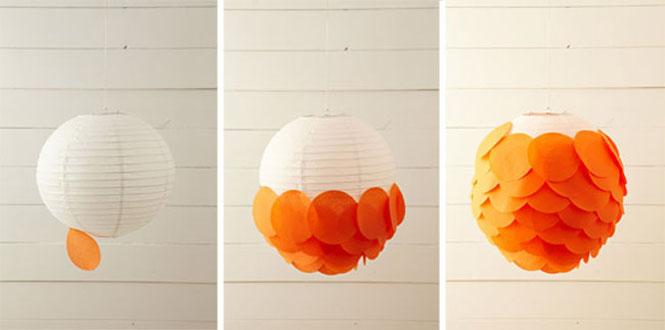 L mparas de papel buena idea - Lampara bola ikea ...