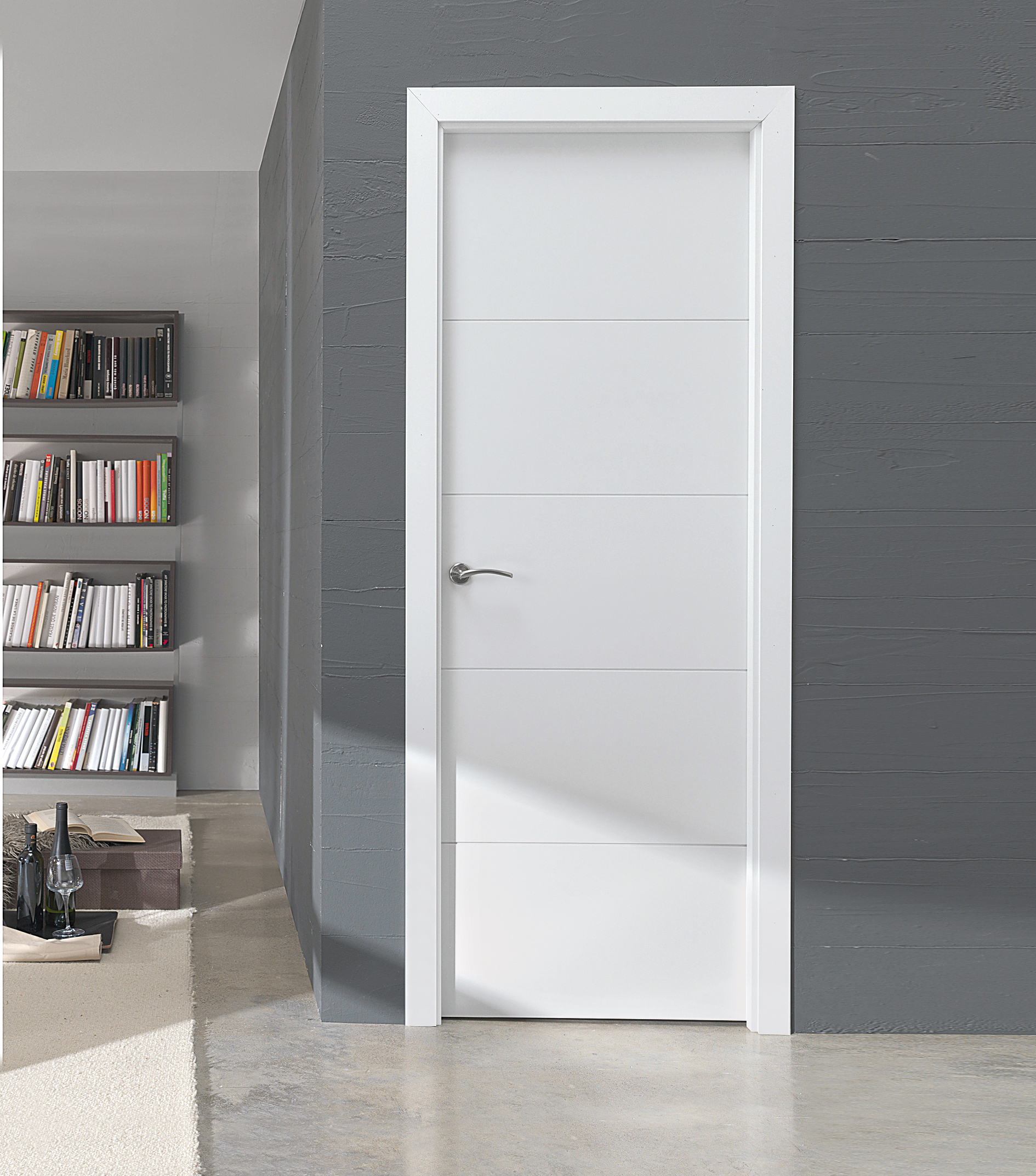 Puertas de interior modernas y decorativas - Puertas para chimeneas leroy merlin ...