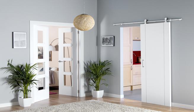 Puertas de interior modernas y decorativas for Puertas interior modernas