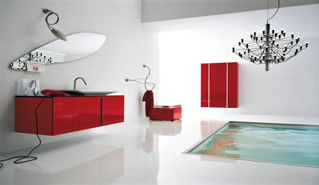 Cuartos de baño modernos