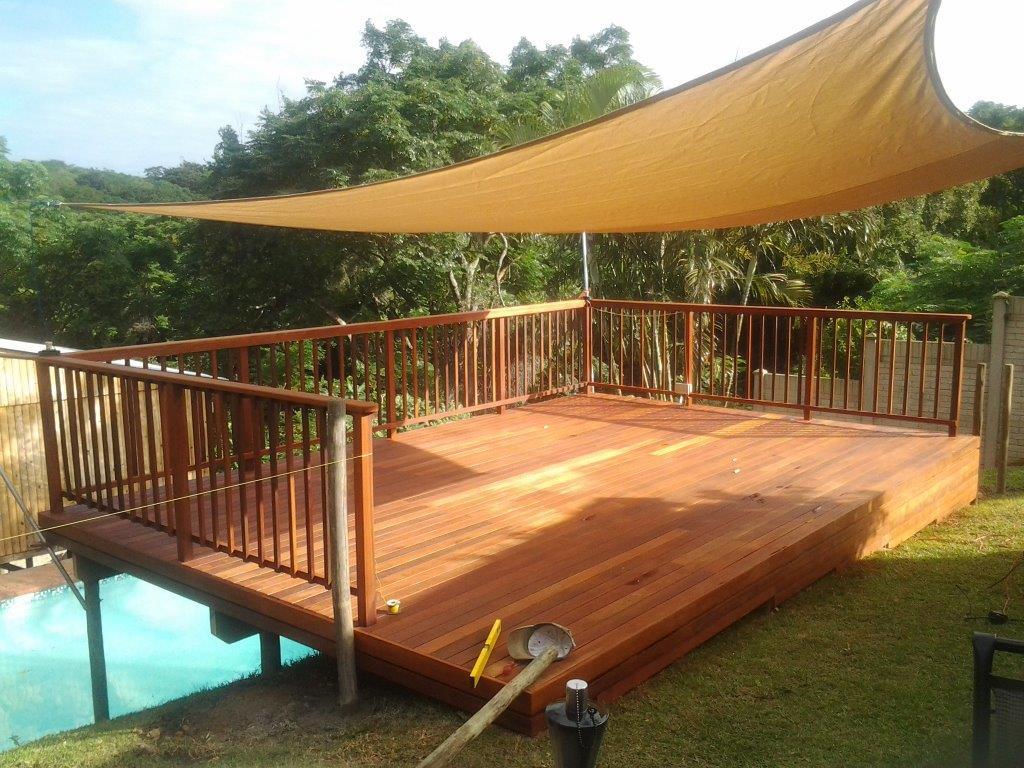 De madera para terrazas amazing macetero de madera con - Terrazas de madera ...