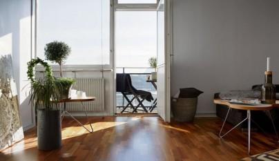 Piso 35 metros salon terraza