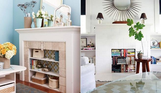 Ideas para decorar el interior de las chimeneas - Chimeneas para decorar ...