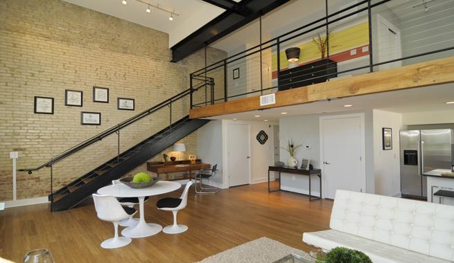 Claves para decorar un loft for Loft modernos exterior