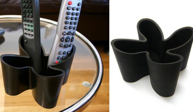 Ideas para guardar el mando a distancia - Organizador mandos a distancia ...