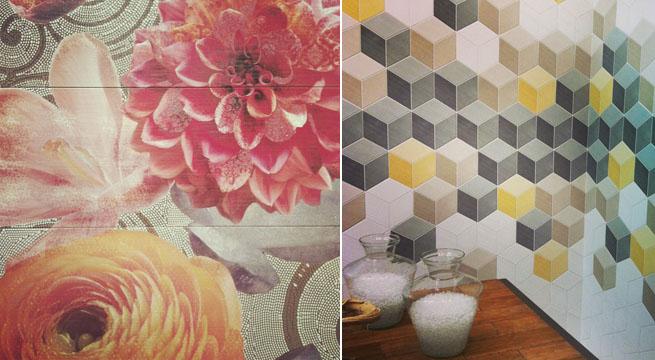 Nuevas tendencias para paredes de azulejos - Tendencias azulejos bano ...