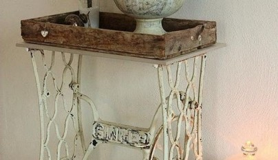 Mesa vintage entrada