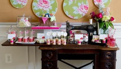 Mesa auxiliar buffet