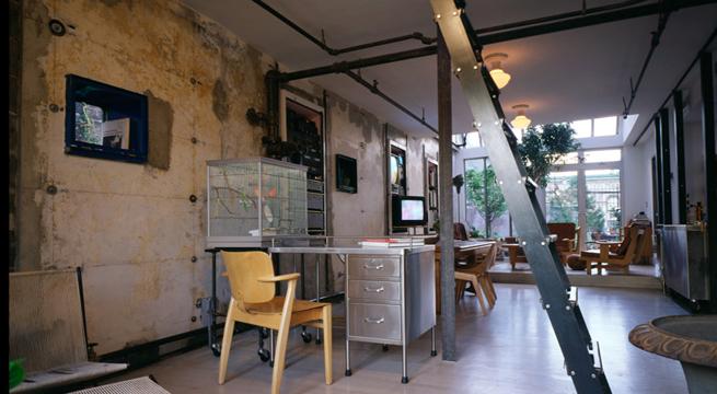 Un loft plenamente industrial for Decoracion tipo industrial