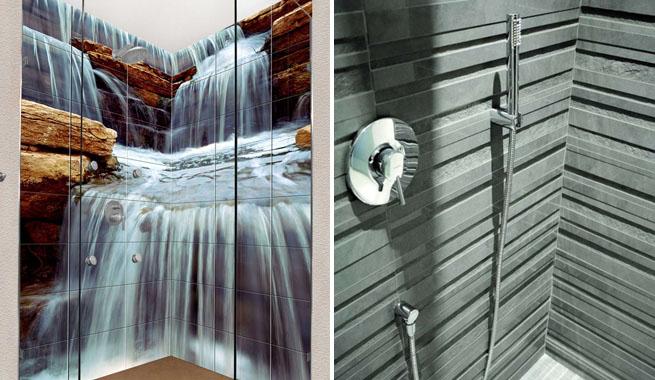 Azulejos Baño Relieve:Cómo alicatar el baño de forma original