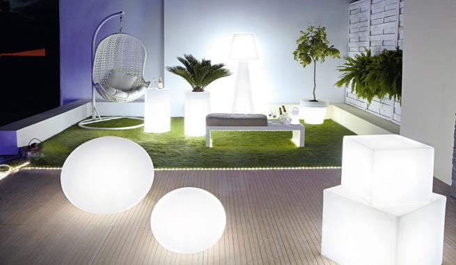 Decorablog revista de decoraci n - Iluminacion para patios y jardines ...