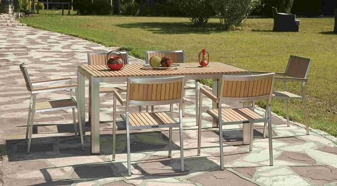 Consejos para escoger la mesa para la terraza o el jard n for Mesas para terraza