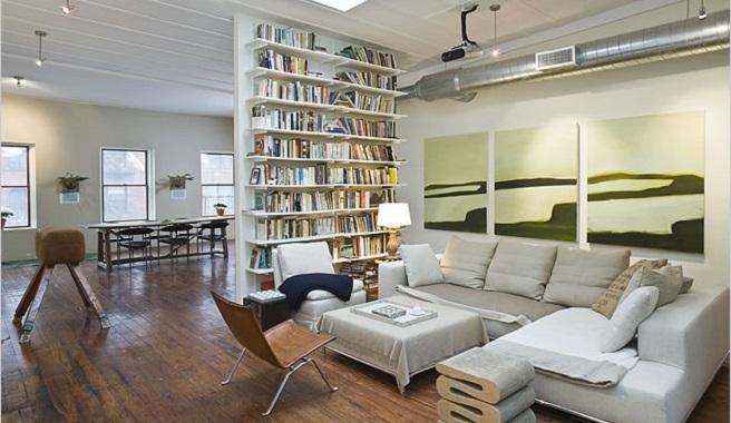 Consejos para separar ambientes en un loft for Se puede dividir un piso en dos
