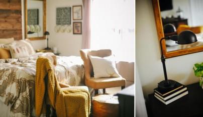 Toques decorativos para el dormitorio for Dormitorio granate