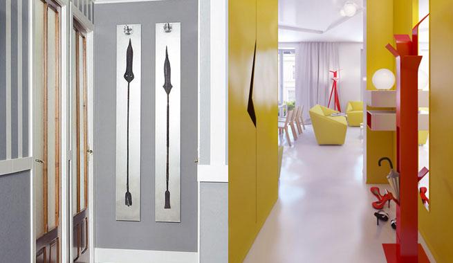 Soluciones para decorar pasillos - Como pintar un cuadro moderno ...