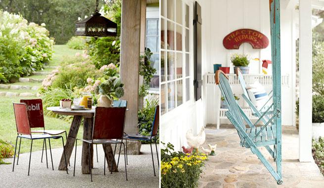 Ideas para decorar el porche - Ideas para decorar porche entrada ...
