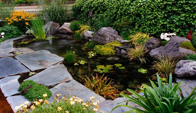 Estanques para el jard n y la terraza - Terraza y jardin ...