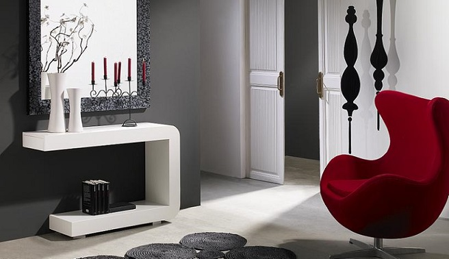 Soluciones para recibidores peque os - Muebles de entrada pequenos ...