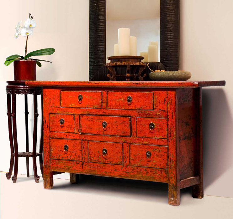 Distressed furniture home interior - Muebles envejecidos ...