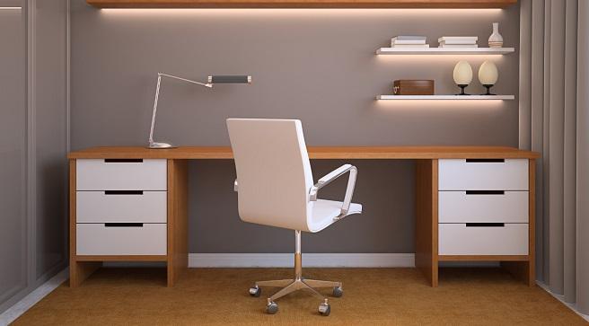 C mo decorar la oficina en casa a trav s del feng shui for Como amueblar una oficina