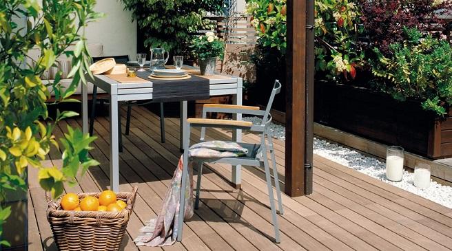 Consejos para lograr una terraza acogedora for Muebles terraza pequena