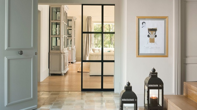 Puertas correderas la mejor soluci n para ganar espacio - Puertas correderas de cristal empotradas ...