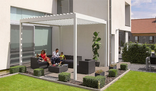 Fotos de terrazas terrazas y jardines terrazas de casas - Decoracion de terrazas y jardines ...