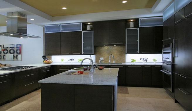 Consejos para iluminar la cocina - Focos led techo cocina ...