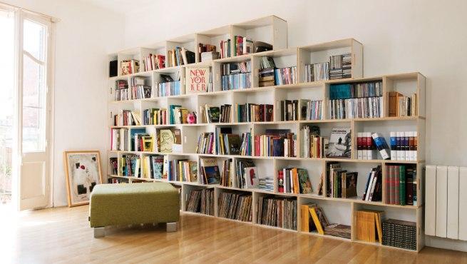 C mo organizar los libros en las estanter as - Estanteria libros ...