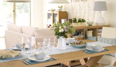 Organizar un sal n con cocina y comedor pictures to pin on for Organizar salon