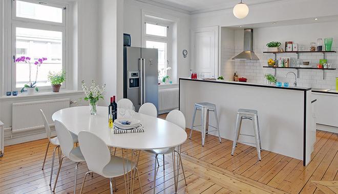 Apuesta por una cocina abierta - Cocinas para pisos pequenos ...