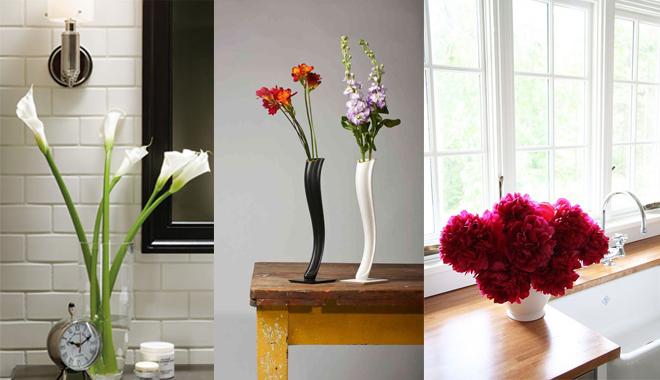 C mo decorar estancias con flores - Cocinas y banos decoracion ...