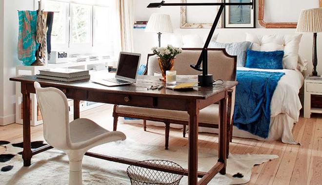 C mo decorar un estudio y trabajar desde casa - Decoracion habitacion estudio ...
