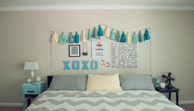 Diy do it yourself o c mo decorar t mismo tu casa - Como decorar una pared de habitacion ...