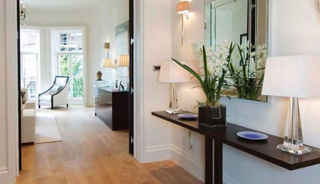 C mo decorar tu recibidor for Fotos de recibidores de pisos