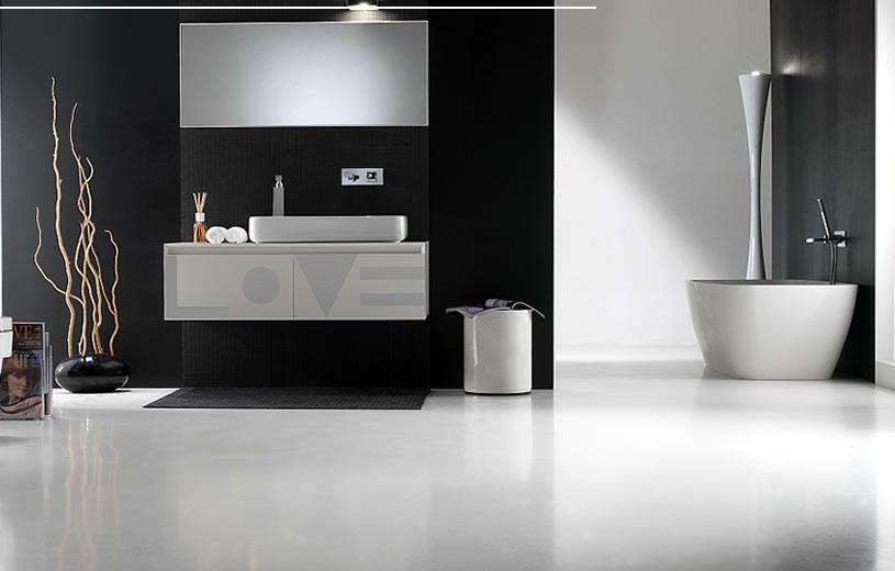 Azulejos Para Baño Minimalista:Cuartos de baño de estilo minimalista