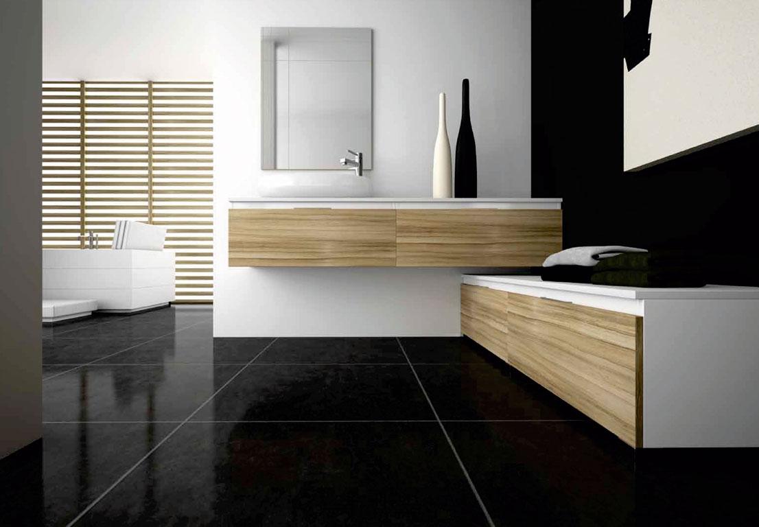 Muebles Para Baño Estilo Minimalista:Cuartos de baño de estilo minimalista