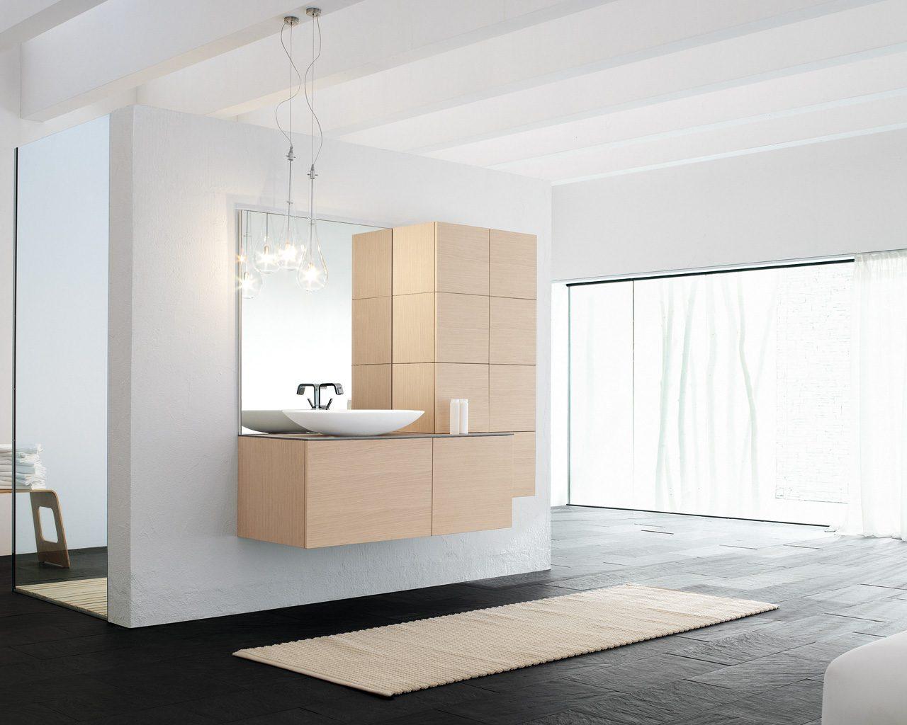 Baño Minimalista Gris:Banos minimalistas5