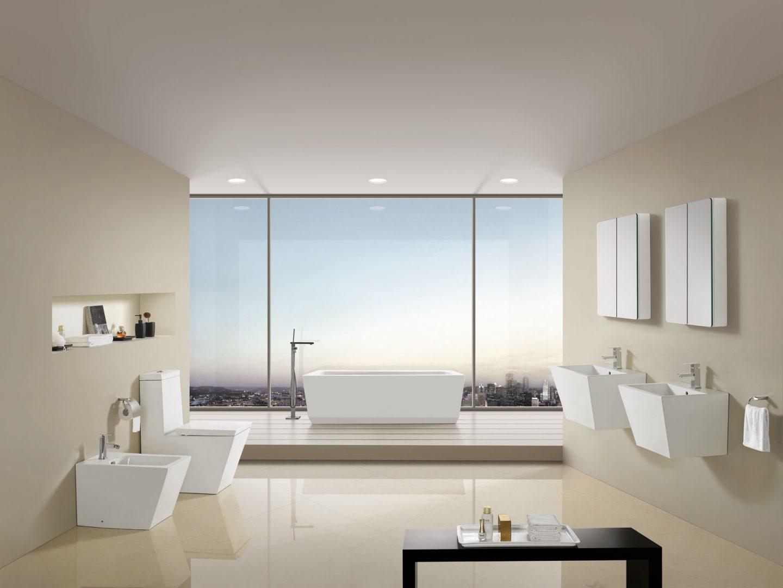 Cuartos de baño de estilo minimalista